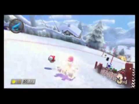 Mario Kart 8: Starman/Star Power Gameplay