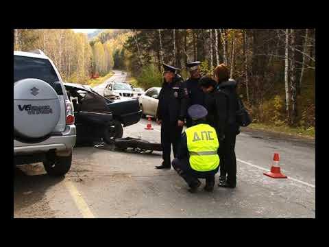 В ДТП на трассе Саяногорск   Черемушки пострадал человек