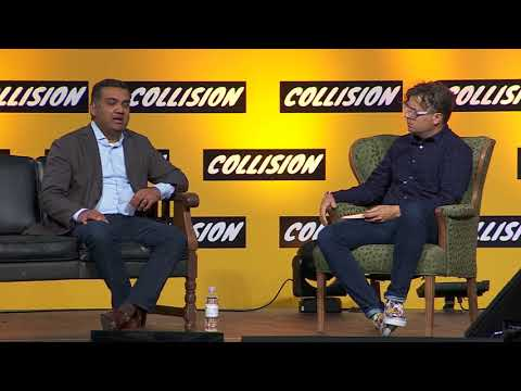 YouTube's Neal Mohan and BuzzFeed's Mat Honan at Collision Conf 2017