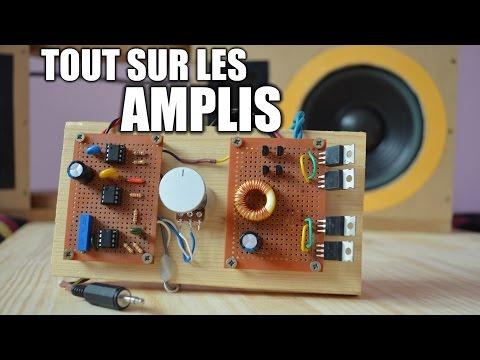 Tout sur les amplificateurs audio