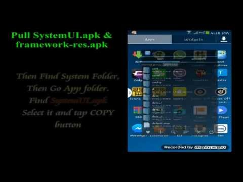 How to Decompile SystemUI.apk