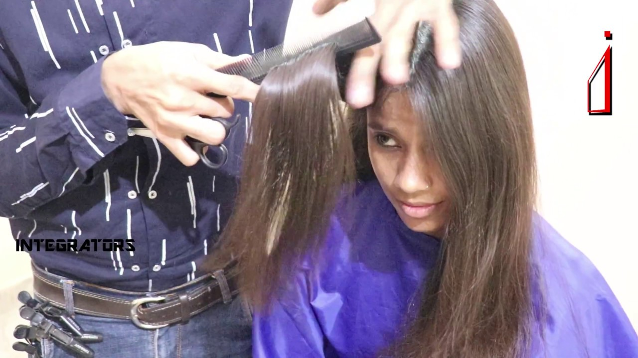 Open Haircutting Hairstyle For College Girls Latest Haircut