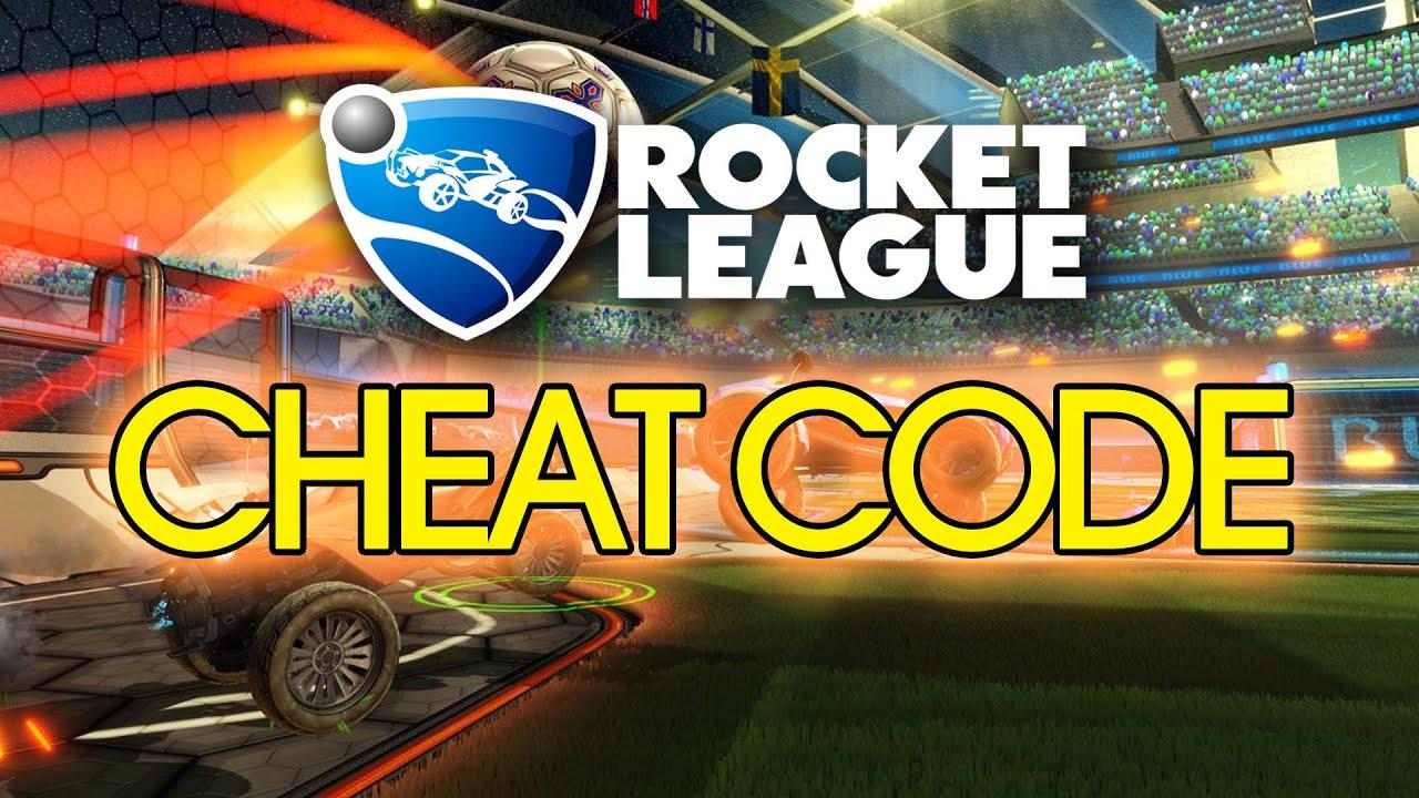 rocket league st cheat code youtube