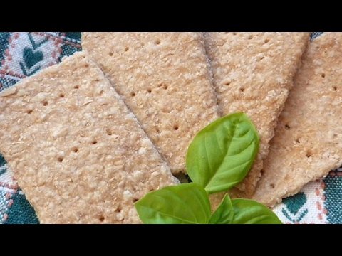 Easy Oatmeal Crackers Recipe