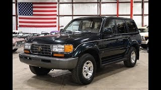 1996 Toyota Land Cruiser Dark Green