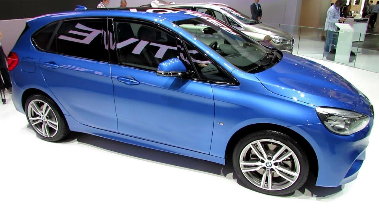 BMW I Active Tourer Exterior And Interior Walkaround - Bmw 225i