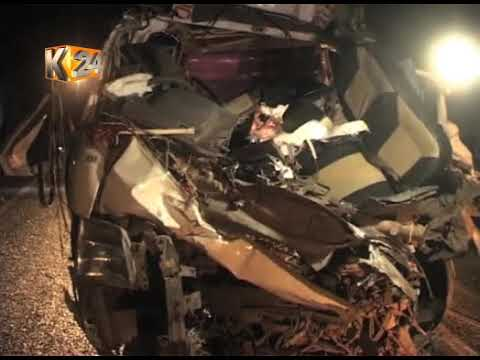 5 more people perish after matatu rams into a lorry at E.dama ravine junction