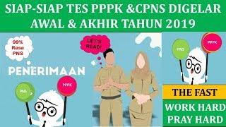 Siap Siap Tes Pppk & Cpns Digelar Awal & Akhir Tahun 2019