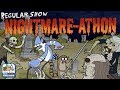 Regular Show: Nightmare-athon - Real Zombies at the Zombocalypse Screening (Cartoon Network Games)