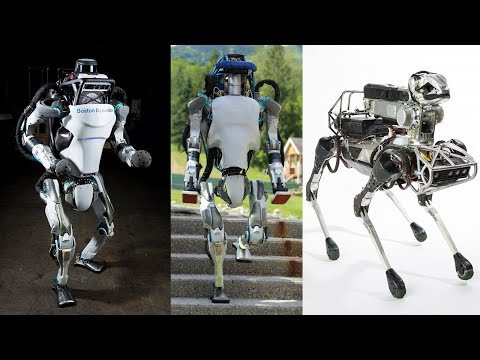 9 Advanced Robots From Boston Dynamics Will Change The Jobs Of Humans || Boston Dynamics Robot