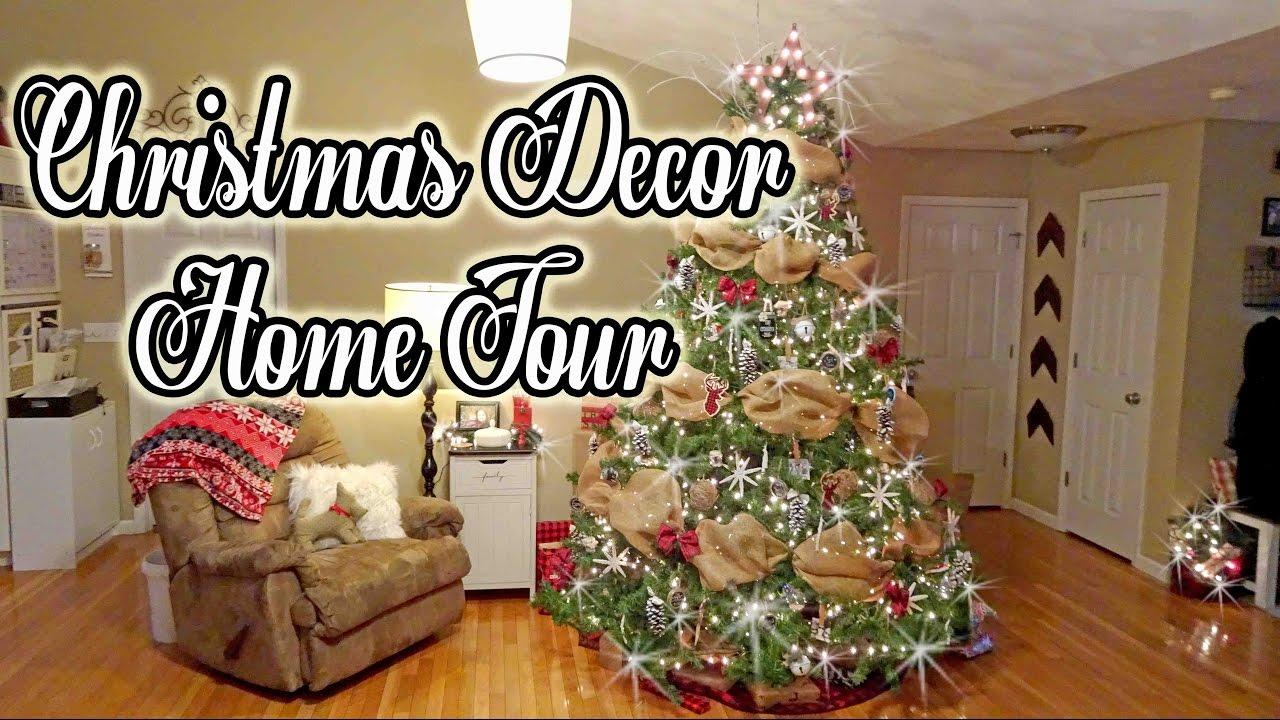 Christmas Home Decor Tour 2016