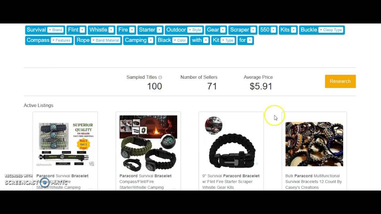 33596d43cff5 Terapeak NEW eBay SEO Feature - Find Keyword Ideas   New Product Ideas