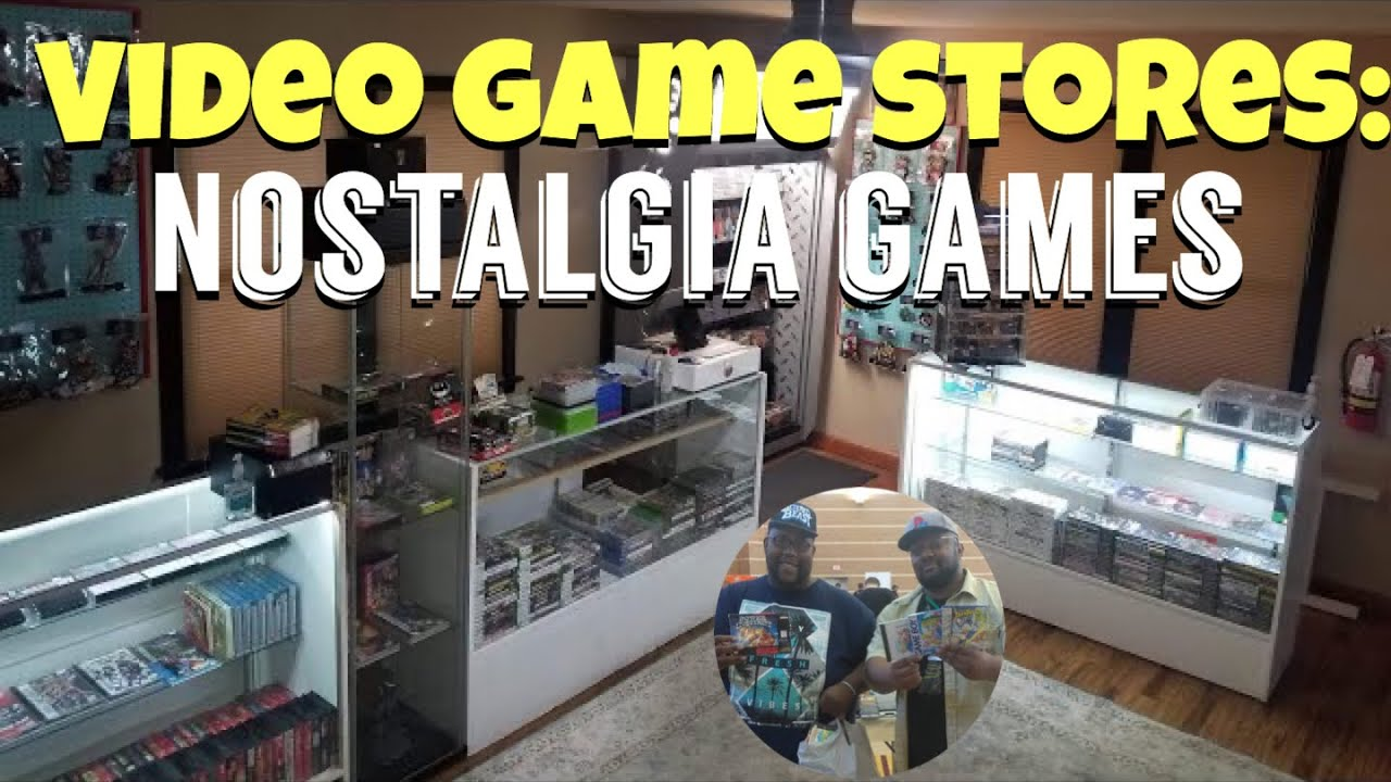 VIDEO GAME STORES TO CHECK OUT