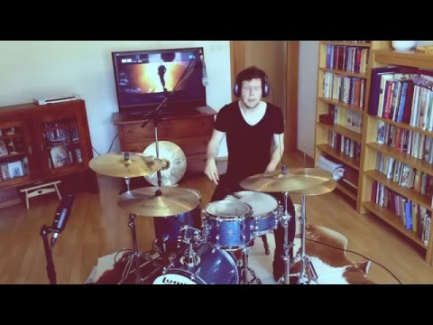 Ray Charles Hit The Road Jack drum cover by Vid Zgonc (one take only)