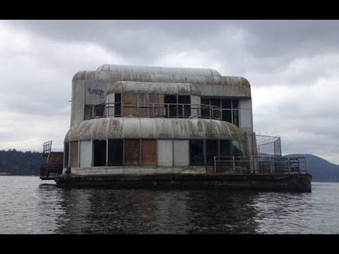 Inside Floating McDonald's Restaurant Abandoned for Almost 30 Years