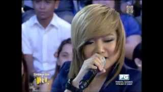Charice sings Alicia Keys