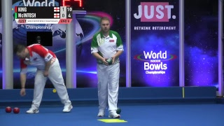 JUST 2018 World Indoor Bowls Championships: Session 16