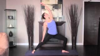 How to Yoga Series: Reverse Warrior Pose Left