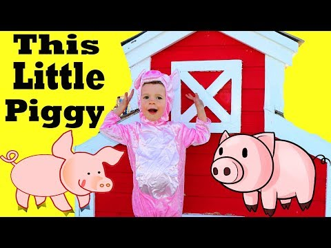 GIANT PLAY HOUSE THIS LITTLE PIGGY Search New House! Play Barn + Pink Play Castle! 3 Little Pigs