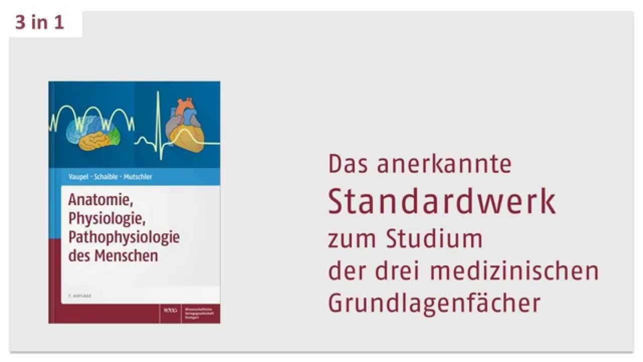 Anatomie, Physiologie, Pathophysiologie des Menschen - 3 in 1 von ...