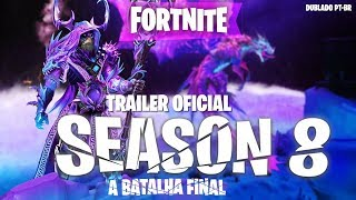 Trailer Fortnite Season 8 (Dublado)