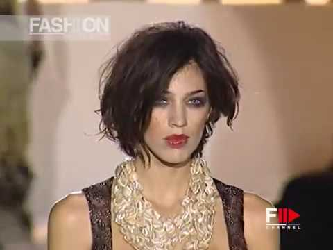MARIELLA BURANI Spring Summer 2003 Milan - Fashion Channel
