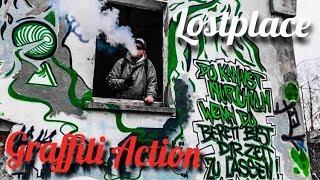 Lostplace Militärbasis / Graffiti Art Live Action!!!