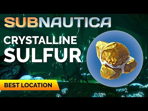 Subnautica Where To Find Crystalline Sulfur