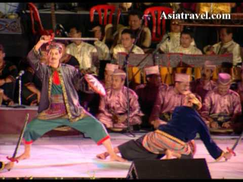 Malaysia Grand Culture Dance performance