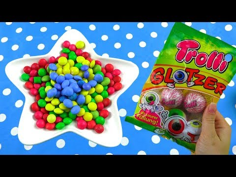 "Full of Magic M&M""s in Plate