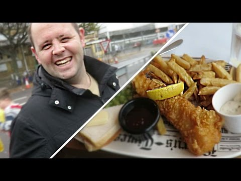 FISH AND CHIPS WITH STEPHEN!