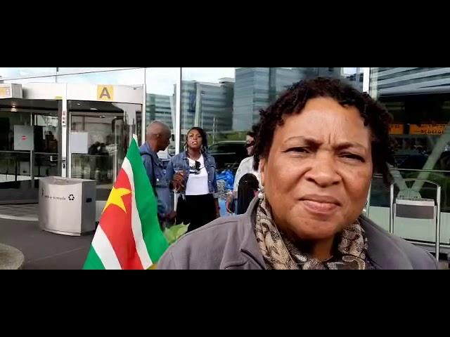 Mannenkoor Maranatha Suriname in Nederland