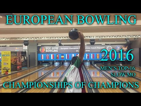 Bowling European Champions Cup 2016, TOP16 men's slow motion video