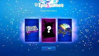 NEW YEARS Event REWARDS? - Fortnite Battle Royale New Years Event