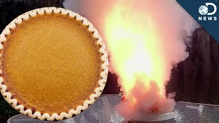 How To Blow Up A Pie!