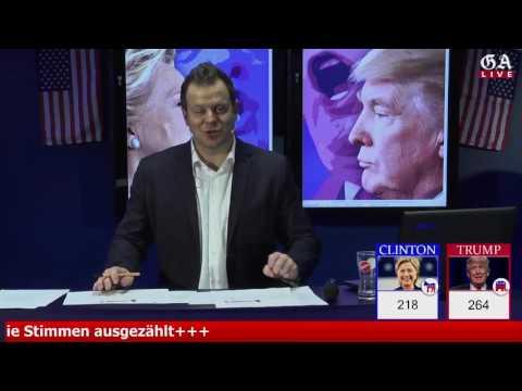US-Wahl 2016 - Die Entscheidung aus dem GA-Newsroom