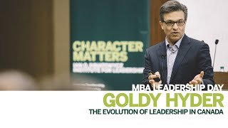 Thumbnail Goldy Hyder: The evolution of leadership in Canada