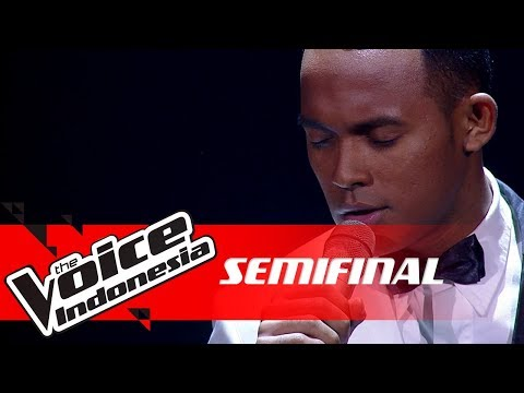 Aldo - Ekspektasi (Kunto Aji) | SEMI FINAL |The Voice Indonesia GTV 2018