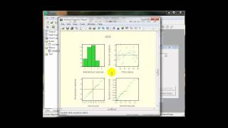 How to run a simple Linear Regression analysis in GenStat
