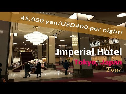 Tokyo Japan, Imperial Hotel 45,000 Yen (USD 395) per night Tower Building Standard Room