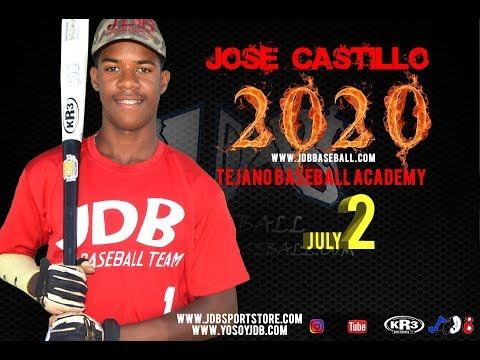 Jose Castillo OF 2020 Class from Tejano Baseball Academy Date Video 29 04 2018