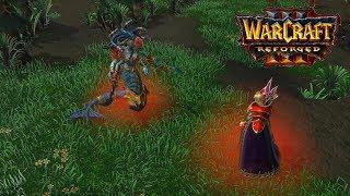 Warcraft 3 Reforged - Blood Elf Campaign Walkthrough - Part 2: A Dark Covenant, Hard