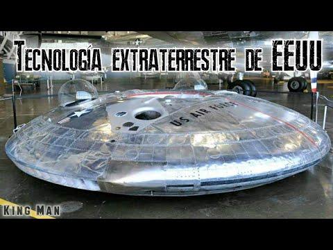Tecnología extraterrestre a manos de la Fuerza Armada de EEUU