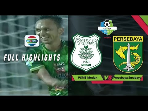 PSMS Medan (4) vs (0) Persebaya Surabaya - Full Highlights | Go-Jek Liga 1 Bersama Bukalapak