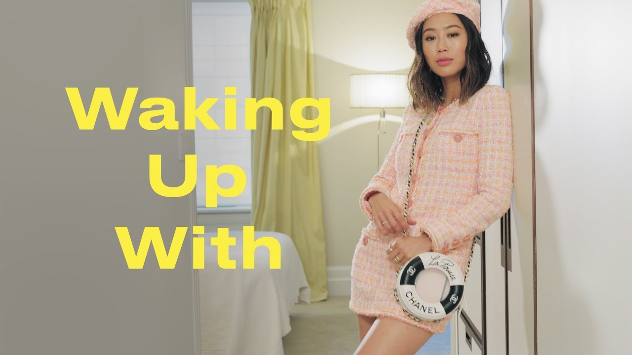 This Is What a Morning with Aimee Song and Chanel is Like | Waking Up With | ELLE