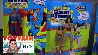 Mattel DC Unverse Classics at New York Toy Fair 2014 - 30th Anniversary Super Powers and more!
