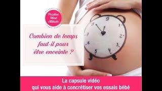 Combien de temps faut-il pour être enceinte ? 🌸