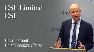 Gambar cover CSL Limited (ASX:CSL): David Lamont, Chief Financial Officer