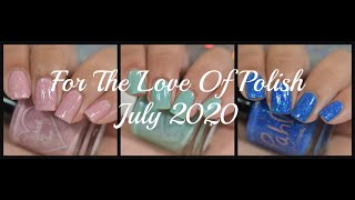 Swatch & Review | For The Love Of Polish Box - July 2020