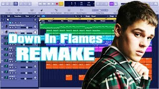 Hoe Maak AJ Mitchell - Down In Flames Instrumentale Remake (Productie Tutorial) Door MUSICHELP